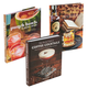 At Home Drinking Book Gift Set - Includes 3 Books On Punches, Whiskey, & Coffee Cocktails