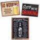 Best Selling Metal Bar Signs Kit - Set of 3