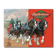Budweiser Clydesdales Metal Bar Sign
