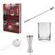 The Bar Book: Elements of Cocktail Technique Gift Set - Includes 4 Essential Bar Tools