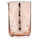 Cocktail Mixing Glass with Copper Plated Vintage Pattern - 500ml