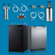Build Your Own 2 Faucet Kegerator
