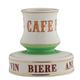 Cafe Paris Porcelain Tabletop Match Strike