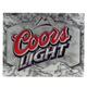 Coors Light Tin Bar Sign