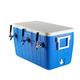 Three Faucet Jockey Box - 70' Coils - Faucet Hardware Kit