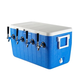 Four Faucet Jockey Box - 70' Coils - Faucet Hardware Kit