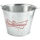 Classic Bowtie Logo Budweiser Beer Bucket - Steel