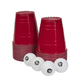GoBig Giant Red Party Cups - 110 oz - Sleeve of 24 - Includes 4 XL 3