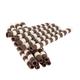 Mona Lisa Dark & Ivory Duo Chocolattos Straws - 4.25