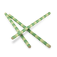 Green Bamboo Paper Straws - 7.75