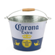 Corona Extra Beer Bucket with Wood Handle