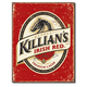 Killians Irish Red Beer Metal Pub Sign