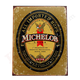 Michelob Lager Tin Bar Sign