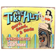 The Tiki Hut Metal Tiki Bar Sign