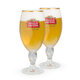 Stella Artois Chalice Beer Glass - 11 oz - Set of 2