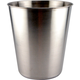 Stainless Steel Trash Can - 9 quart -  10 1/2
