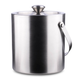 Behind The Bar® Stainless Steel Double Walled Ice Bucket - 1.5 Quarts