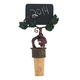 Grapevine Write-On Chalkboard Cork Bottle Stopper
