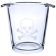 Skull & Crossbones Wine & Champagne Ice Bucket - Glass