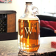 Personalized Clear Glass Beer Growler - Single Initial - 64 oz