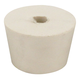 #7 1/2 Drilled Rubber Stopper - With Airlock Hole