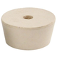 #10 1/2 Drilled Rubber Stopper - With Airlock Hole