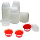 2 oz Plastic Jello Shot Cups with Lids - 125ct