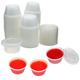2 oz Plastic Jello Shot Cups with Lids- 125ct