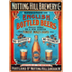 Notting Hill Brewery Metal Bar Sign