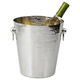 Hammered Stainless Steel Ice Bucket - 2.81 Gallons