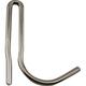 Single Sliding Pot Rack Hook - Polished Chrome Finish