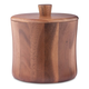 Natural Teak Wood Ice Bucket - 3 Quarts
