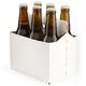 Six Pack Bottle Carrier for 12 oz Homebrew Beer Bottles - 1 Six Pack Bottle Carrier