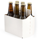 Six Pack Bottle Carrier for 12 oz Homebrew Beer Bottles