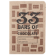 33 Bars of Chocolate Tasting Notebook