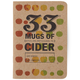 33 Mugs of Cider Tasting Notebook