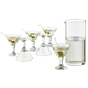 Libbey Just Cocktails Mini Martini Glass & Pitcher Set - 7 Pieces