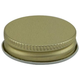 Beer Growler Cap - Gold Metal Replacement Screw Cap