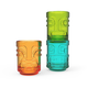 Tiki Trio Stackable Colored Shot Glasses - 1 oz - Set of 3