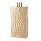 Viski Belmont Hammered Brass Flask - 7 oz