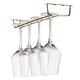 Glass Hanger Rack - Brass - 16