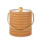 Maldives Peanut Wicker Ice Bucket - 3 Quarts