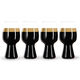 Spiegelau Stout Beer Glass - Pack of 4 - Designed with Left Hand Brewing Co. & Rogue Ales