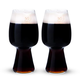 Spiegelau Stout Craft Beer Glasses - 21 oz - 2 Pack - Designed with Left Hand Brewing Co. & Rogue Ales