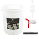 Brewcraft Plastic Fermenter Kit - 30 L (8 Gallons) - With Airlock, Tap, and Thermometer