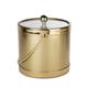 Brushed Gold Finish Ice Bucket - 3 Quarts