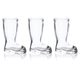 European Boot Glass Shot Glasses - 1.3 oz - Set of 3