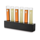 Libbey Modern Bar Chemistry Test Tube Shooter Set - 7 Pieces