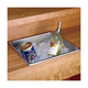 Stainless Steel Drop In Dry Sink - 14.25 Qt