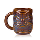 Libbey Ceramic Tiki Mug with Handle - 16 oz - Brown